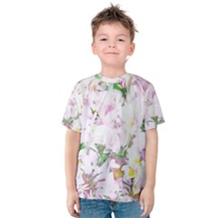 Soft Floral, Spring Kid s Cotton Tee