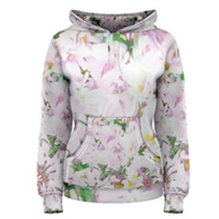 Soft Floral, Spring Women s Pullover Hoodies