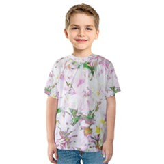 Soft Floral, Spring Kid s Sport Mesh Tees