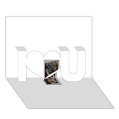 Chipped I Love You 3D Greeting Card (7x5)