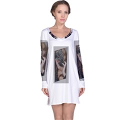 Chipped Long Sleeve Nightdresses