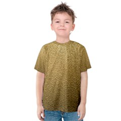 Gold Plastic Kid s Cotton Tee