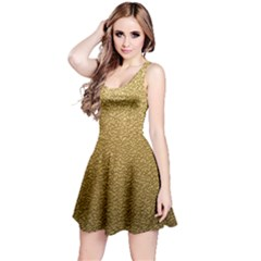GOLD PLASTIC Reversible Sleeveless Dresses
