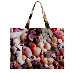 COLORFUL SEA SHELLS Zipper Tiny Tote Bags