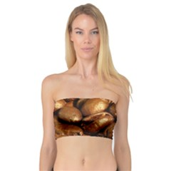 CHOCOLATE COFFEE BEANS Women s Bandeau Tops