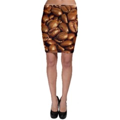 CHOCOLATE COFFEE BEANS Bodycon Skirts