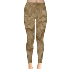 BROWN PAPER Women s Leggings
