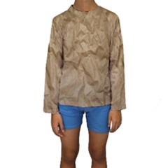 BROWN PAPER Kid s Long Sleeve Swimwear