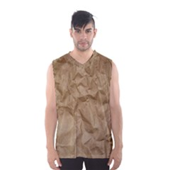 Brown Paper Men s Basketball Tank Top