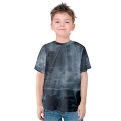Black Splatter Kid s Cotton Tee