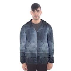 BLACK SPLATTER Hooded Wind Breaker (Men)