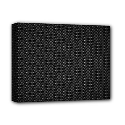 BLACK HONEYCOMB Deluxe Canvas 14  x 11