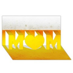 Beer Mom 3d Greeting Card (8x4)