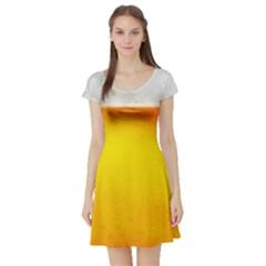 BEER Short Sleeve Skater Dresses