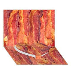 Bacon Heart Bottom 3d Greeting Card (7x5)