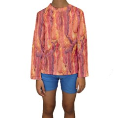 BACON Kid s Long Sleeve Swimwear