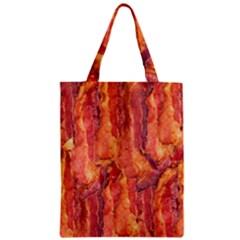 BACON Zipper Classic Tote Bags