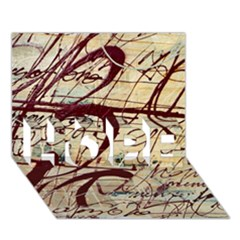 Abstract 2 Hope 3d Greeting Card (7x5)