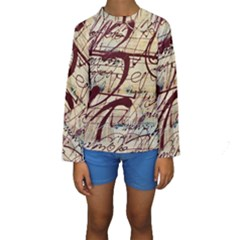 ABSTRACT 2 Kid s Long Sleeve Swimwear