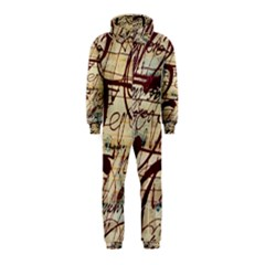 ABSTRACT 2 Hooded Jumpsuit (Kids)