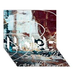ABSTRACT 1 HOPE 3D Greeting Card (7x5)
