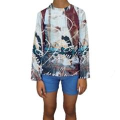 ABSTRACT 1 Kid s Long Sleeve Swimwear