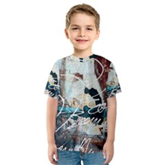 Abstract 1 Kid s Sport Mesh Tees