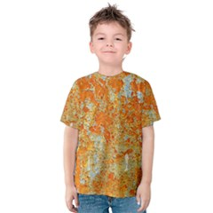 YELLOW RUSTY METAL Kid s Cotton Tee