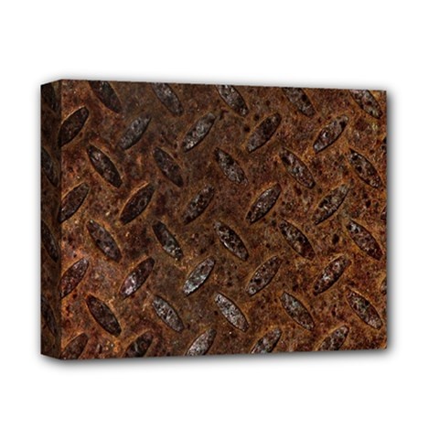 RUSTY METAL PATTERN Deluxe Canvas 14  x 11