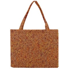 RUSTED METAL Tiny Tote Bags