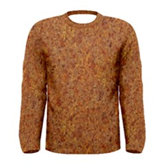 RUSTED METAL Men s Long Sleeve T-shirts