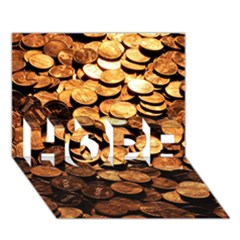 Pennies Hope 3d Greeting Card (7x5)