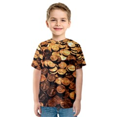 PENNIES Kid s Sport Mesh Tees
