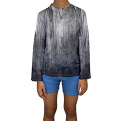 GRUNGE METAL NIGHT Kid s Long Sleeve Swimwear
