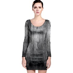 GRUNGE METAL NIGHT Long Sleeve Bodycon Dresses