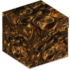 GOLD COINS 2 Storage Stool 12