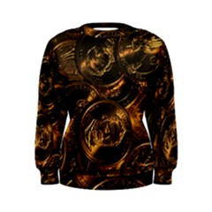 GOLD COINS 2 Women s Sweatshirts