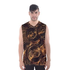 GOLD COINS 2 Men s Basketball Tank Top
