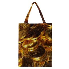GOLD COINS 1 Classic Tote Bags