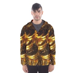 GOLD COINS 1 Hooded Wind Breaker (Men)
