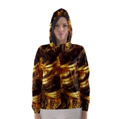 GOLD COINS 1 Hooded Wind Breaker (Women)