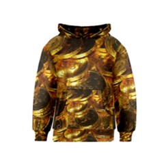 GOLD COINS 1 Kid s Pullover Hoodies