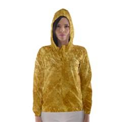 Gold Hooded Wind Breaker (women)