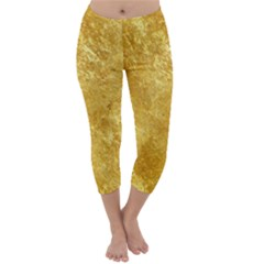 GOLD Capri Winter Leggings