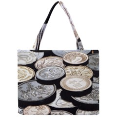 FOREIGN COINS Tiny Tote Bags