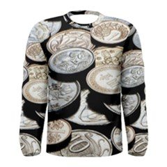 FOREIGN COINS Men s Long Sleeve T-shirts