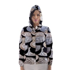 FOREIGN COINS Hooded Wind Breaker (Women)