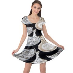 FOREIGN COINS Cap Sleeve Dresses
