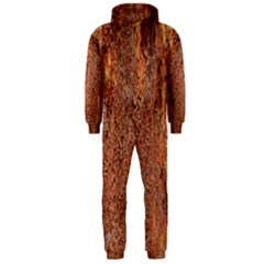 FLAKY RUSTING METAL Hooded Jumpsuit (Men)
