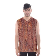 FLAKY RUSTING METAL Men s Basketball Tank Top